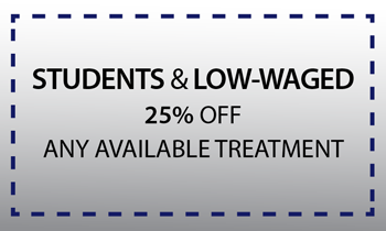 Student and Low Waged 25% Discount