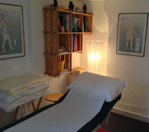 Treatment Room of The Acupuncture Works in Lewes